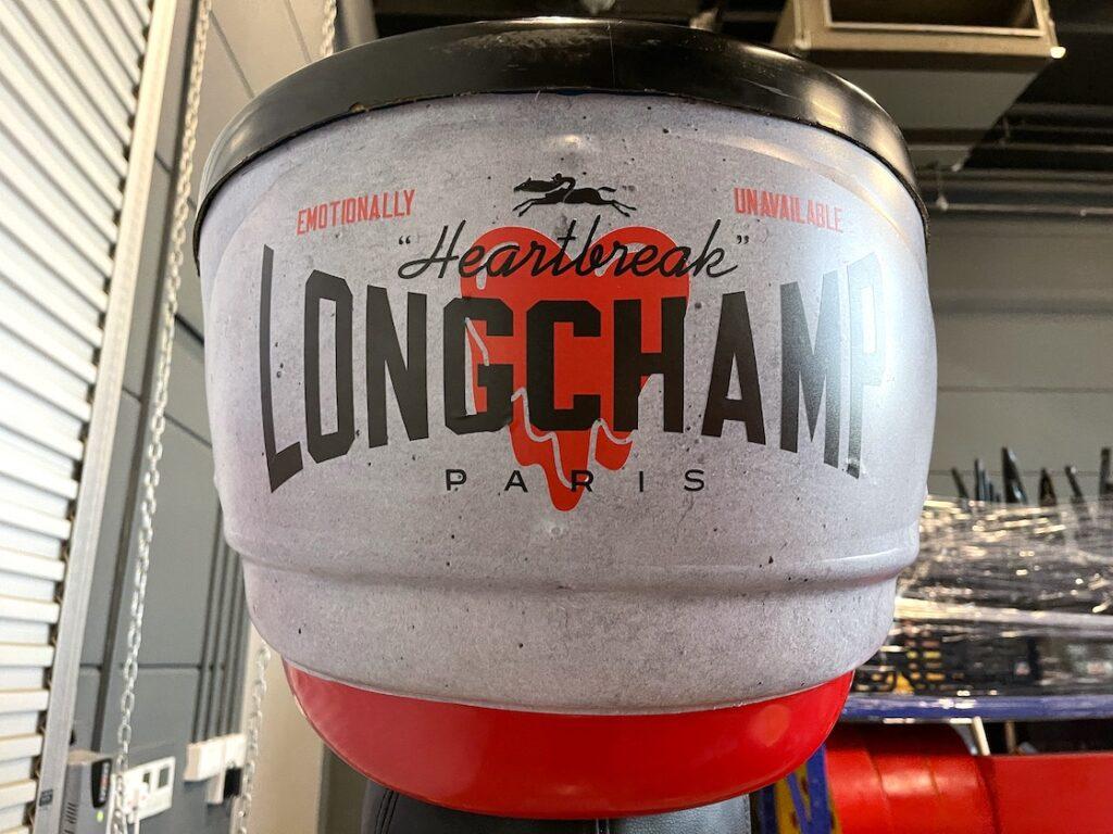 Customised Arcade Game for Longchamp Singapore