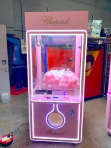 Customised Pink Claw Machine Singapore
