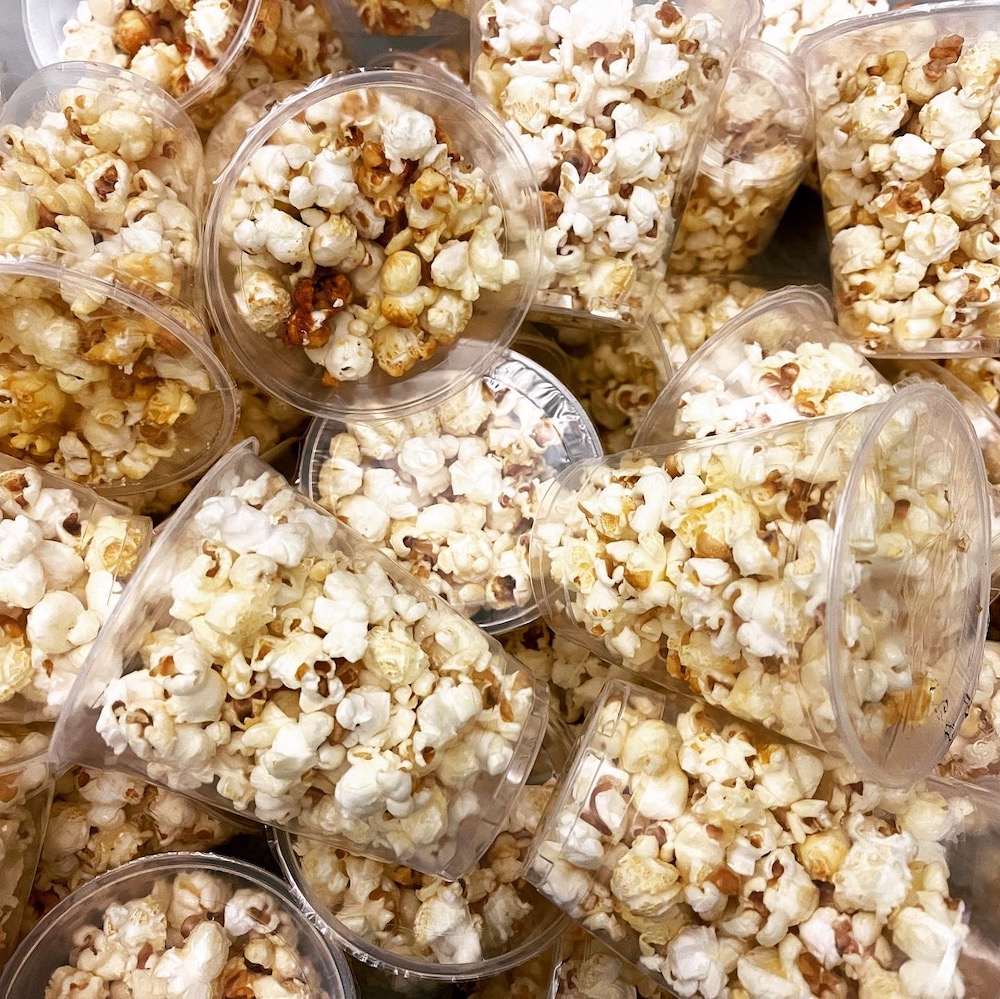 pre packaged popcorn supplier in Singapore
