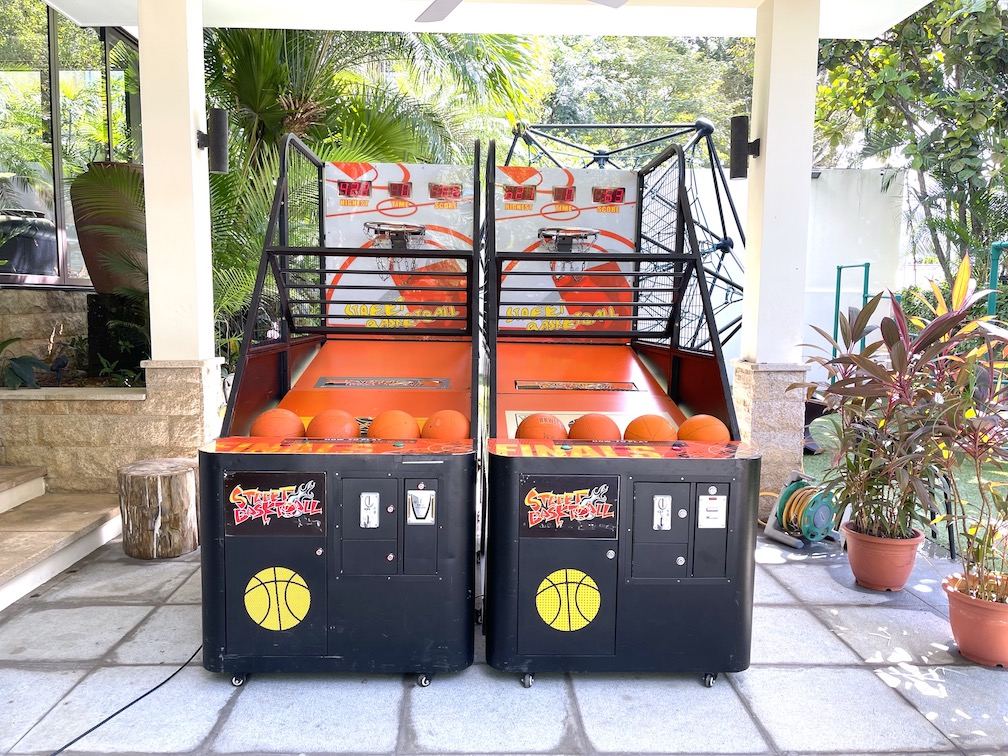 Basketball Arcade Game Rental Singapore